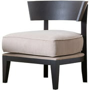 Abbyson Living Xena Solid Hardwood Chair, Espresso