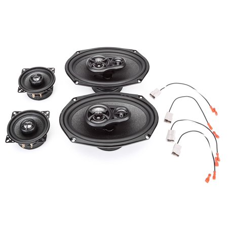 - 1988-1989 Oldsmobile Cutlass Supreme Complete Factory Replacement Speaker Package by Skar Audio