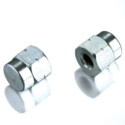 Tacx M10x1 Bicycle Trainer Axle Nuts - T1415