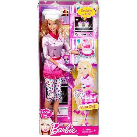 Barbie - Mattel Barbie I Can Be Sweet Chef Doll