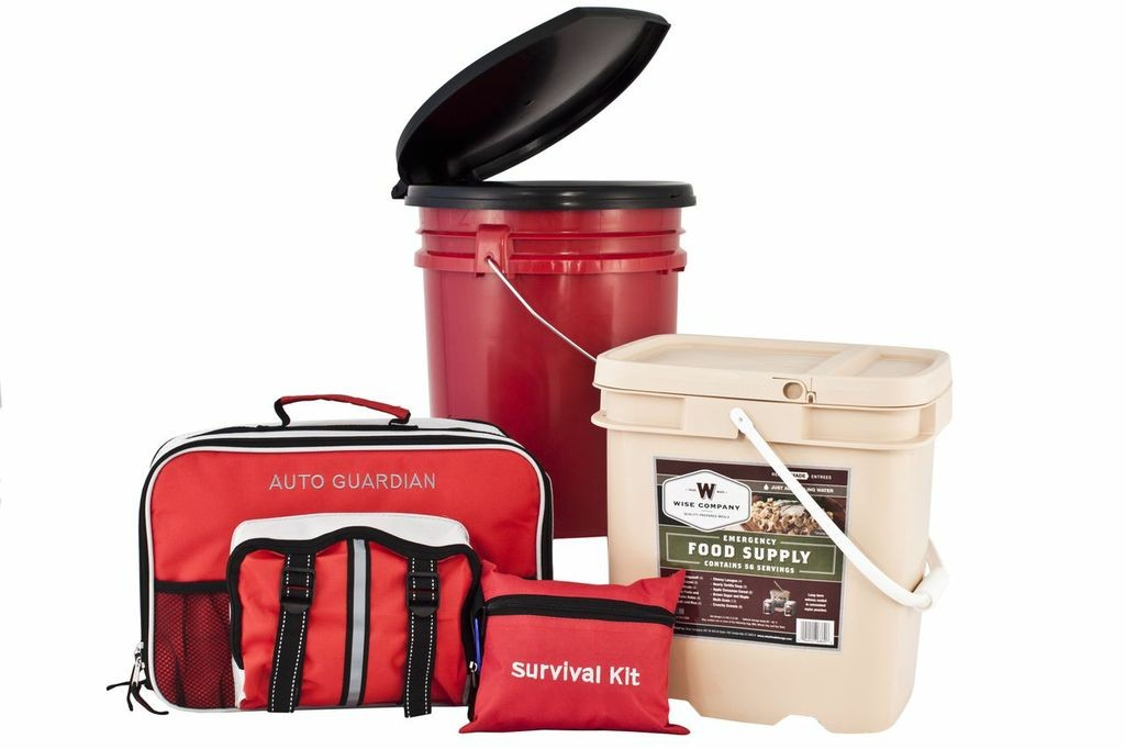 Guardian PPK4 Family Preparedness Package with Food Storage by