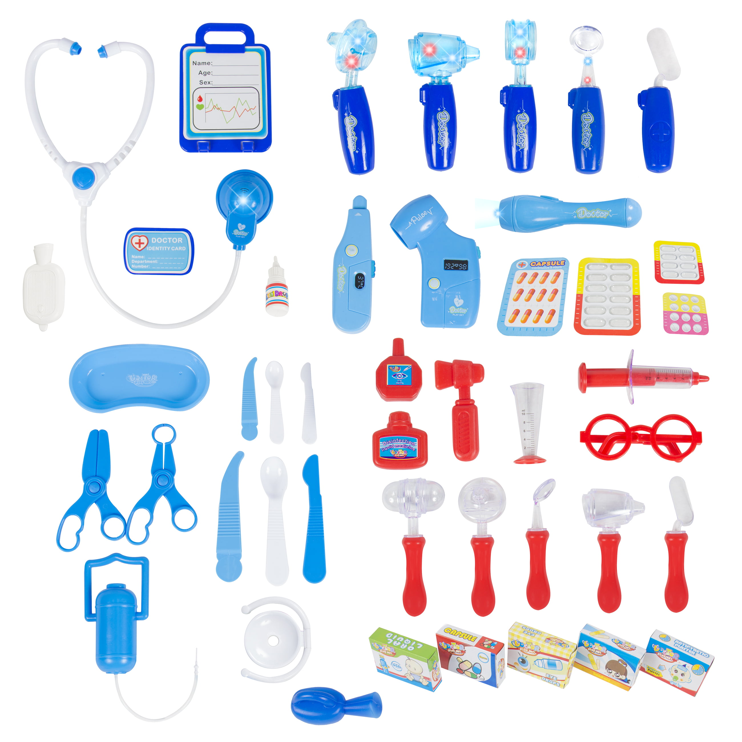 Best Choice Products 45 Pieces Pretend & Play Doctor Set ...