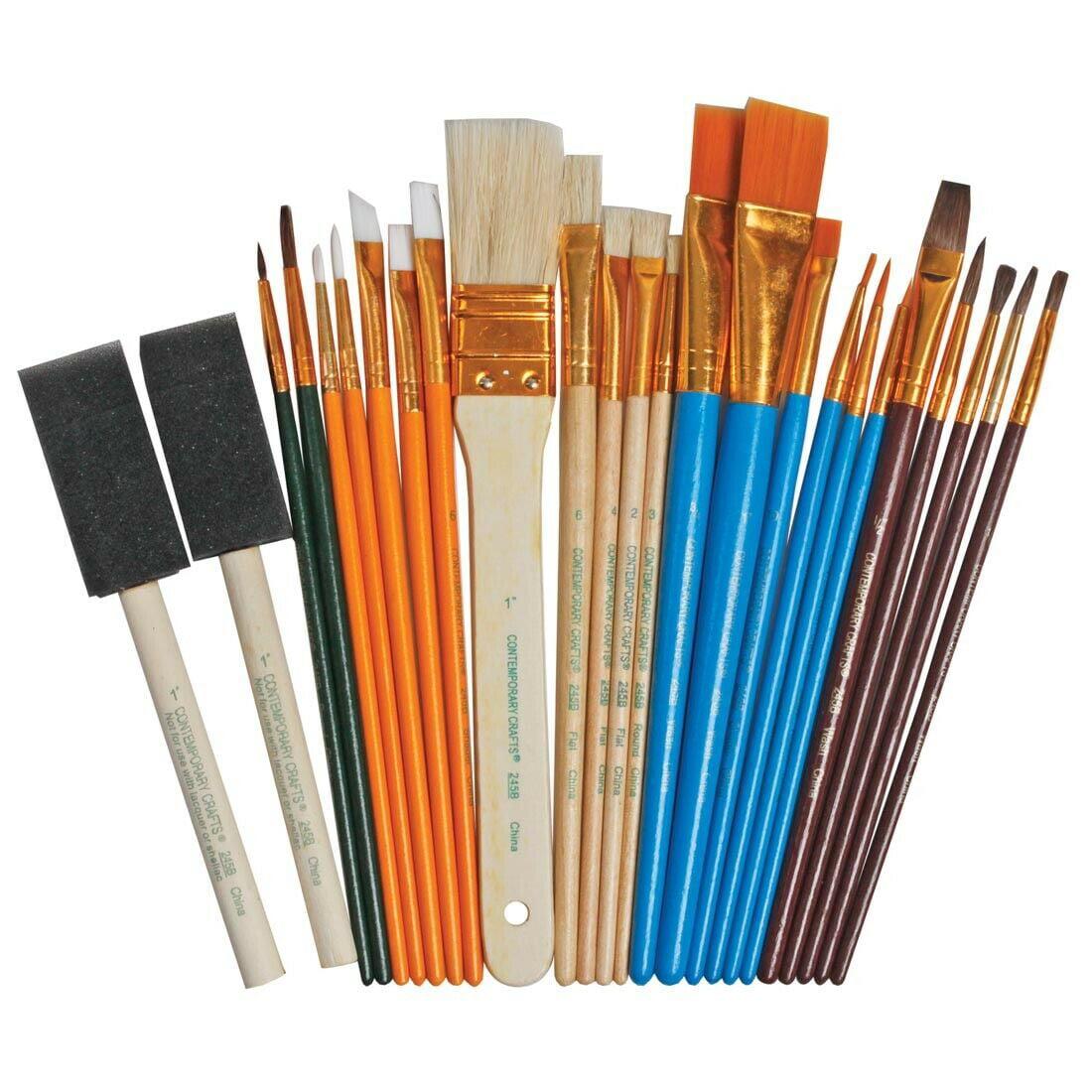 Loew Cornell 1021086 Simply Art Brush Value Packs