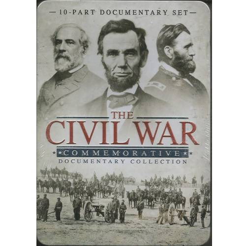 The Civil War Commemorative Documentary Collection (Tin Case)
