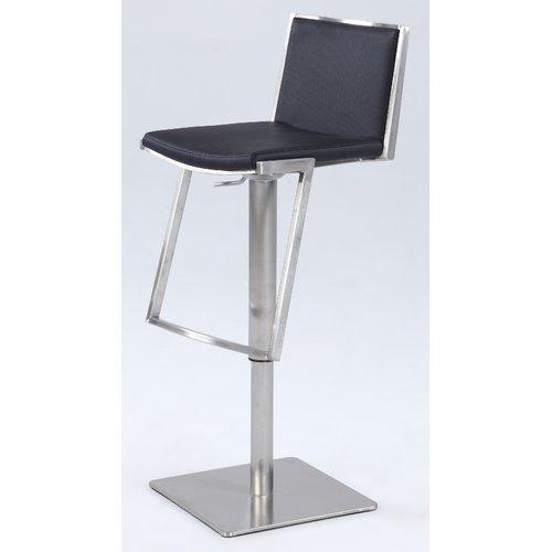 Orren Ellis Jorman Adjustable Height Bar Stool