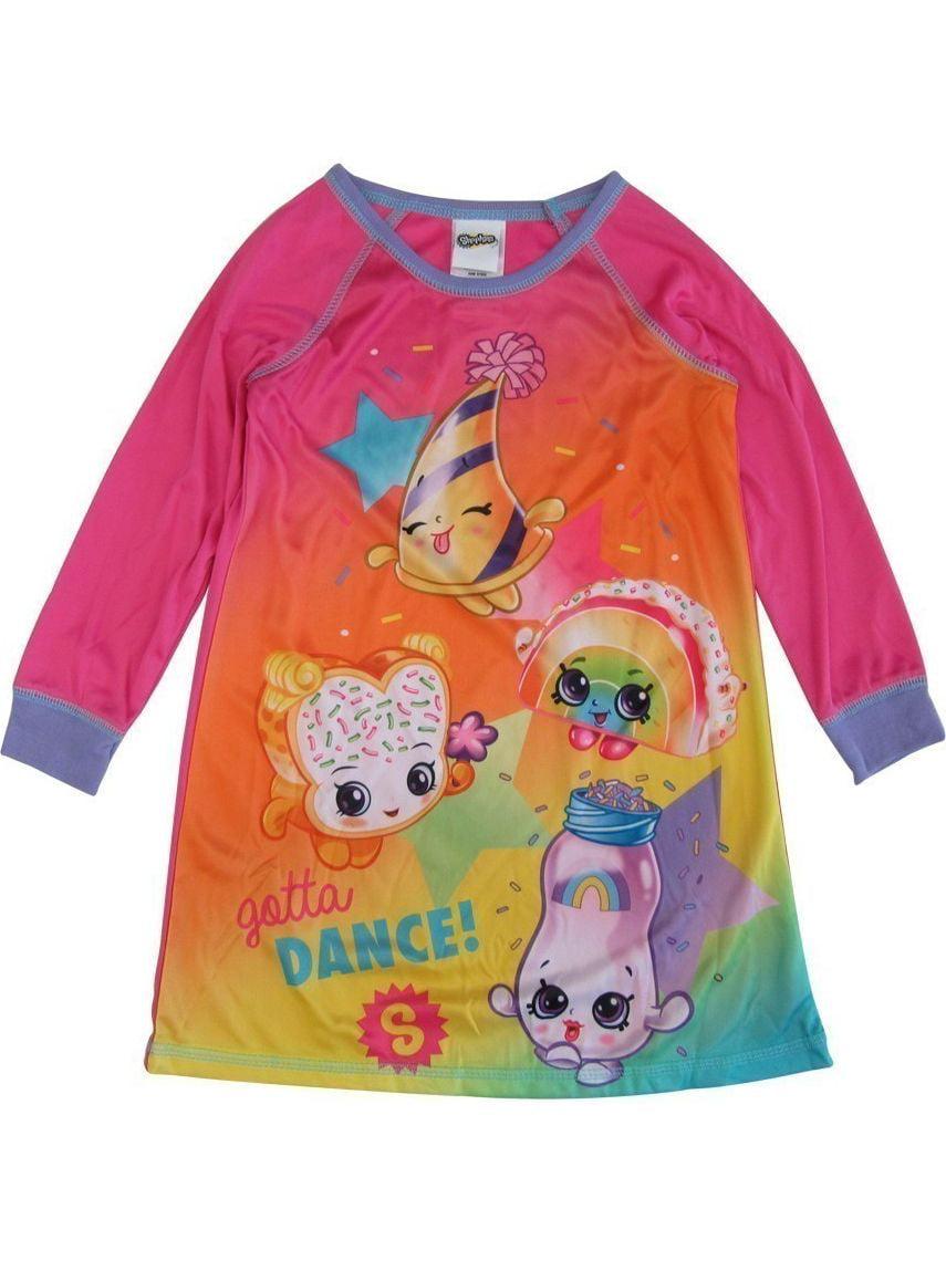 """Little Girls Pink """"Gotta Dance"""" Long Sleeve Nightgown"""