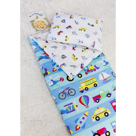 Olive Kids On the Go Microfiber Sleeping Bag w/ - Kids Sleeping Bags Pillow