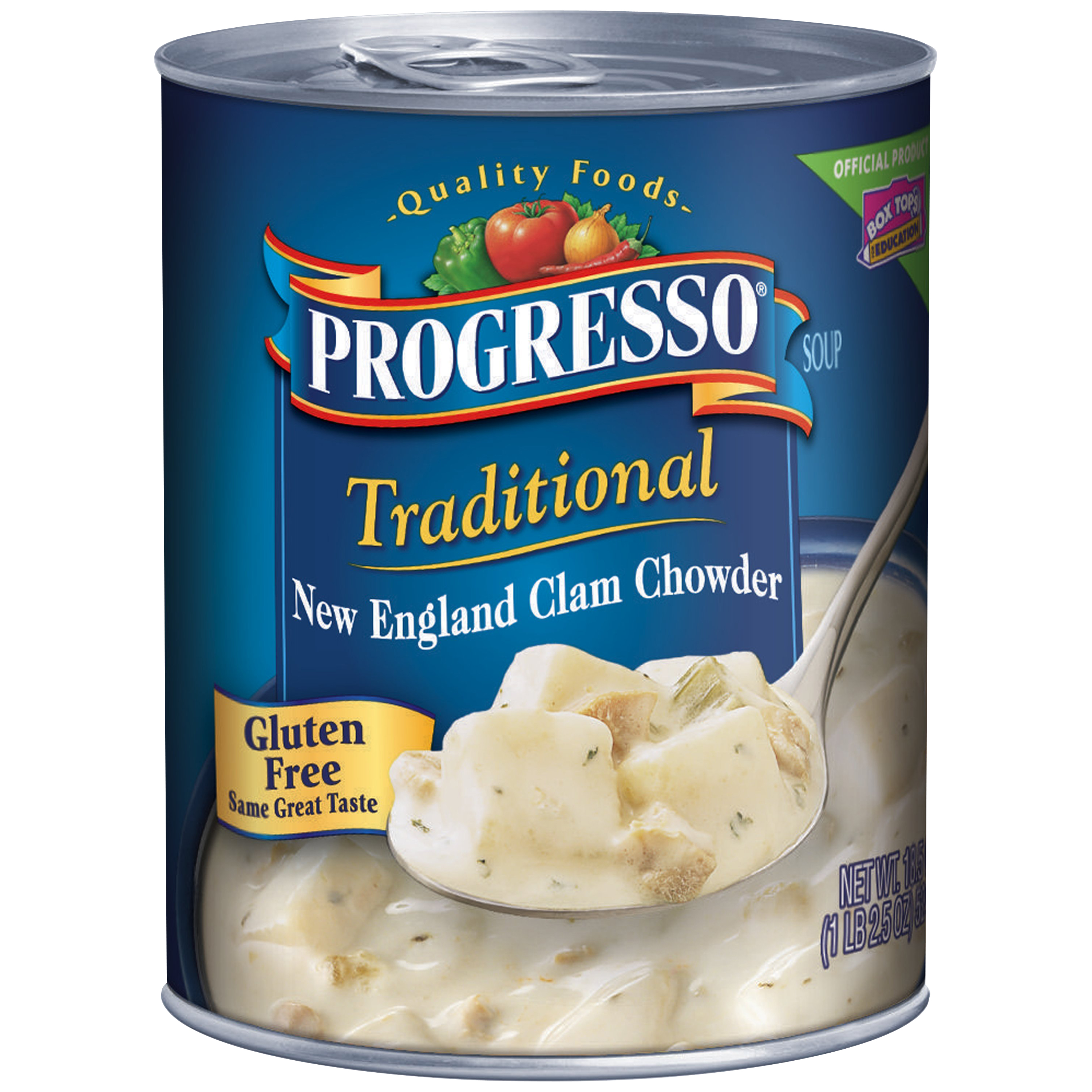 Progresso® Traditional New England Clam Chowder Soup 18.5 oz. Can