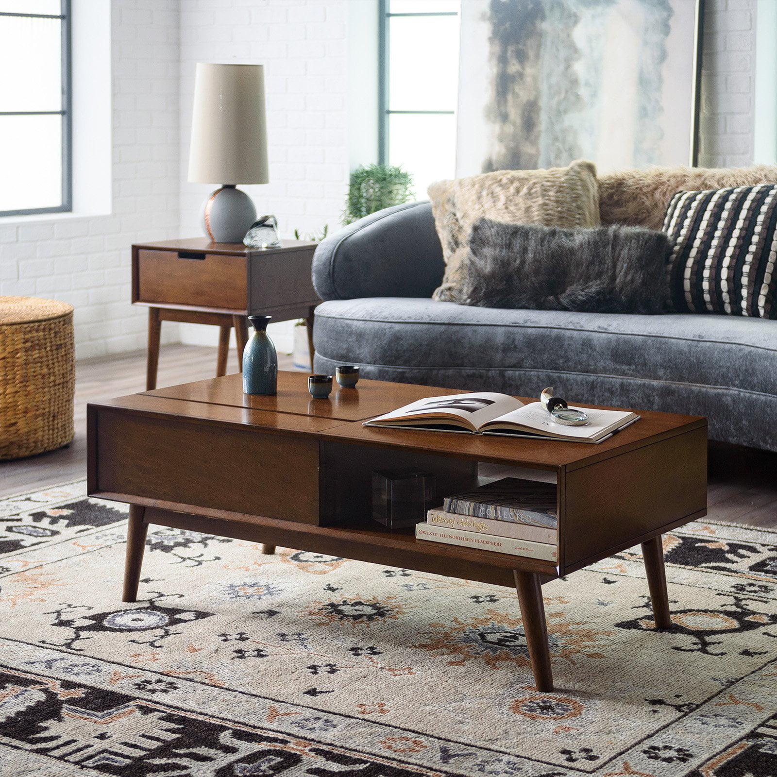 Belham Living Campbell Mid Century Modern Lift Top Coffee Table
