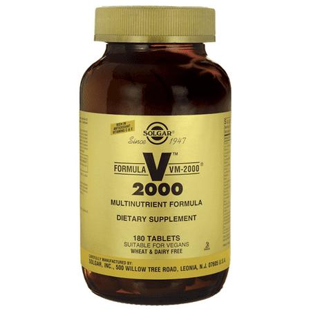 Solgar Formula Vm-2000 180 Tabs