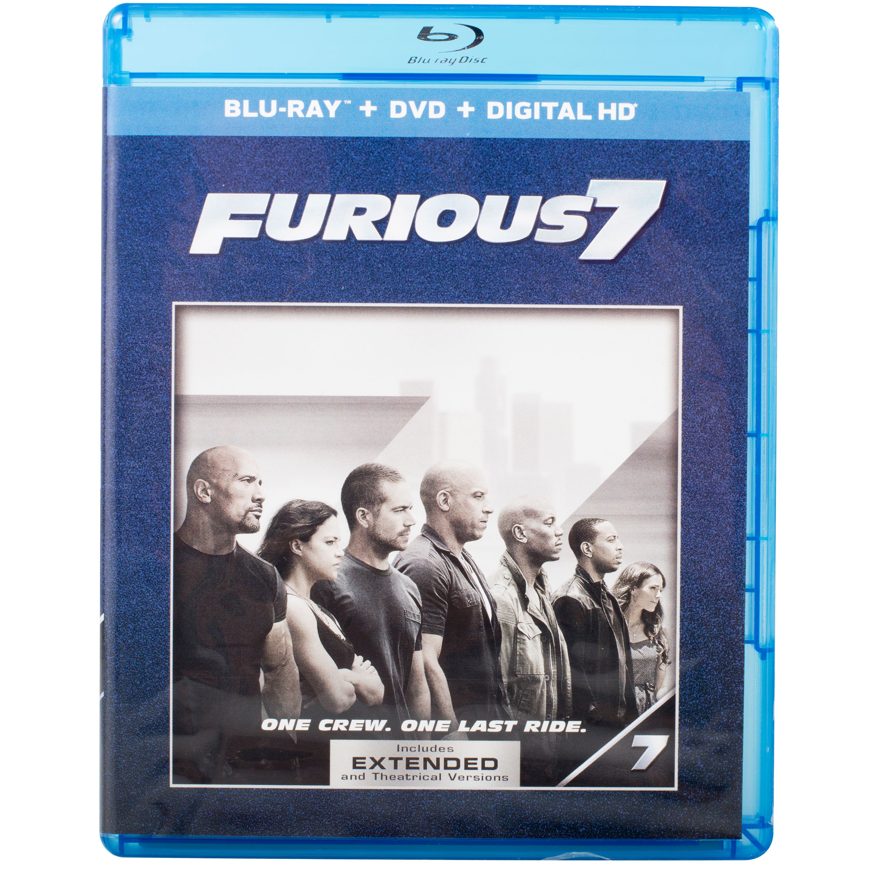 Furious 7 (Blu-ray + DVD + Digital HD) (With INSTAWATCH) (Widescreen)