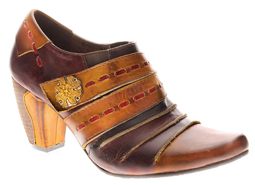 Spring Step Women's Wondrous Brown Boots 39 M EU 8.5 M by HALIFAX TRADER
