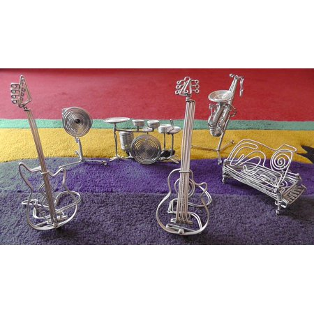 LAMINATED POSTER Musical Instruments Decoration Intruments Wire Poster Print 24 x 36 ()