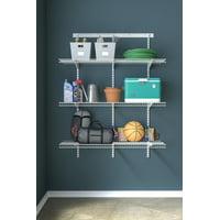 Closetmaid Shelftrack Utility 3 Shelf Kit