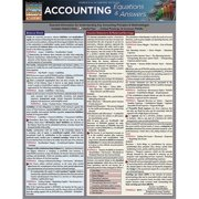 BarCharts 9781423218173 Accounting Equations & Answers Quickstudy Easel
