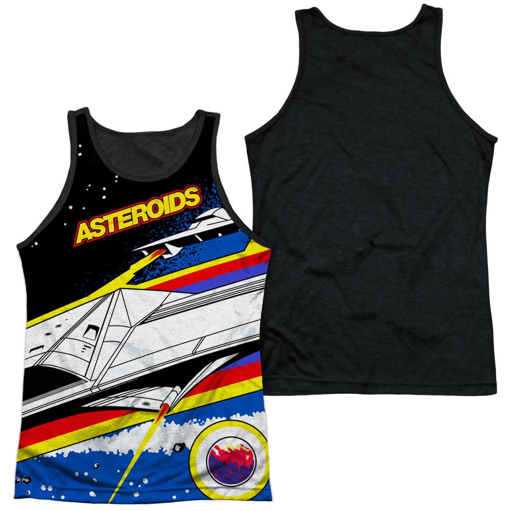 Atari Asteroids Arcade Adult Tank Top