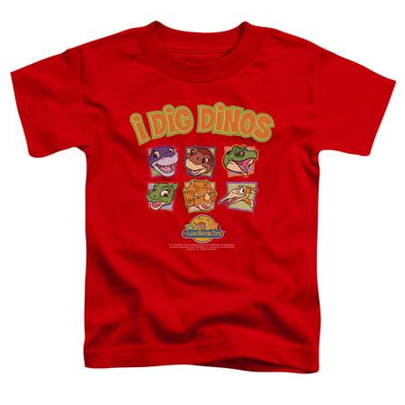 - Land Before Time I Dig Dinos Little Boys Shirt