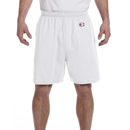 Branded Champion Cotton Gym Short - SILVER GRAY - L (Instant Saving 5% & more on min