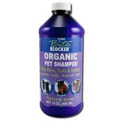 Homs - Bite Blocker Insect Repellent For Pets, Organic Pet/Animal Shampoo, 16 oz