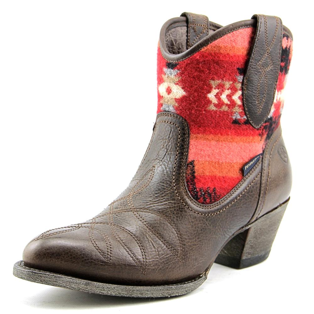 Ariat Meadow Women  Round Toe Leather Brown Western Boot