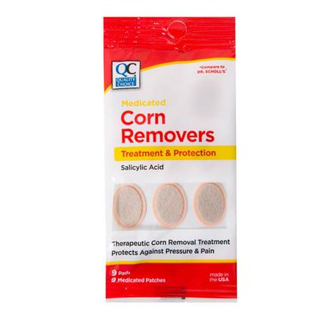 Quality Choice Medicated Corn Removers 9 Pads Each Medicated Corn Removers