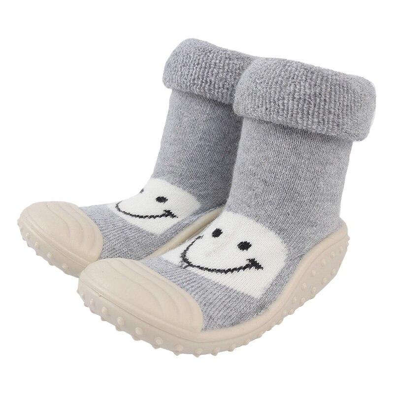 Hot sale newborn baby socks children socks anti slip cartoon cute infant rubber