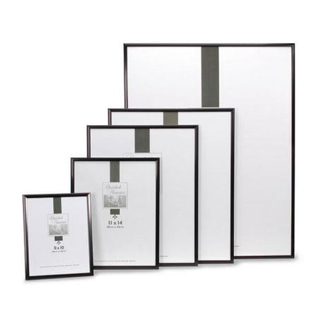 Darice Aluminum Picture Frame: Black, 10 x 20 inches