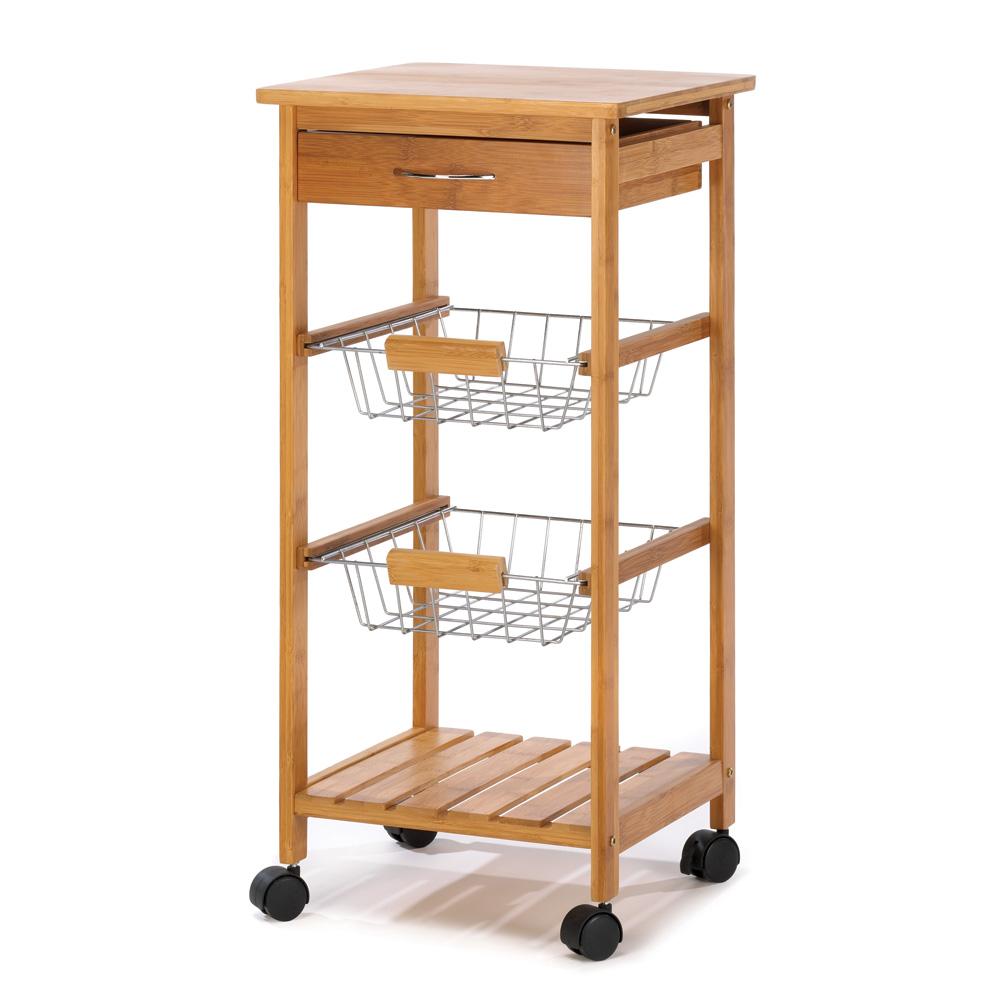 Kitchen Island Cart Homestyle Kitchen Cart Rolling Wooden Kitchen Serving Cart Walmart Com Walmart Com