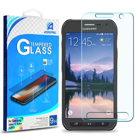 For Samsung Galaxy S7 Active Clear Tempered Glass Screen Guard Film Protector