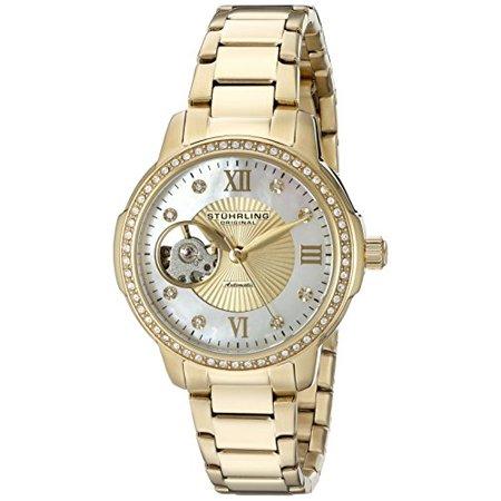 491 04 Women's Legacy Analog Automatic Self Wind Gold Watch
