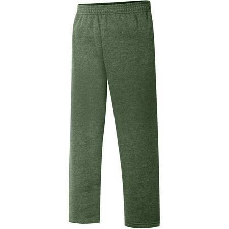 Bella Straight Leg Sweatpants (Boys' EcoSmart Open Leg Fleece Sweatpant with)