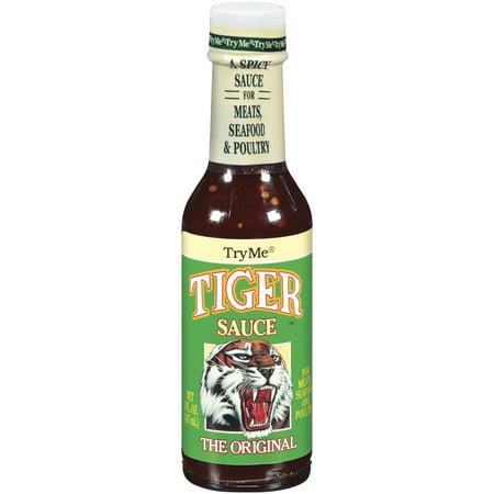 Try Me Tiger Sauce The Original 5 Oz