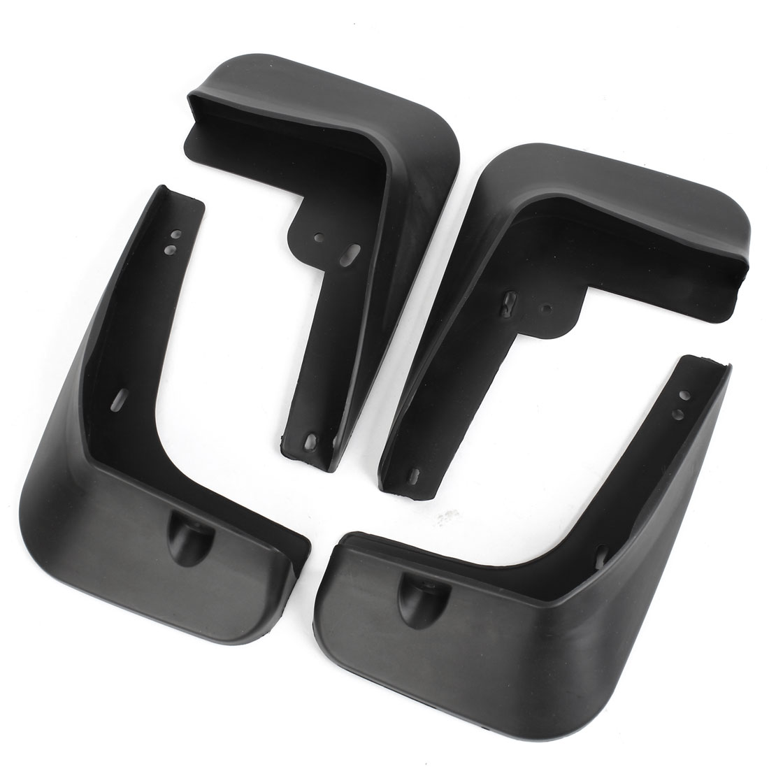 Unique Bargains 4PCS Front Rear Splash Guards Plastic Mud Flaps Set for Hyundai Sonata 2011