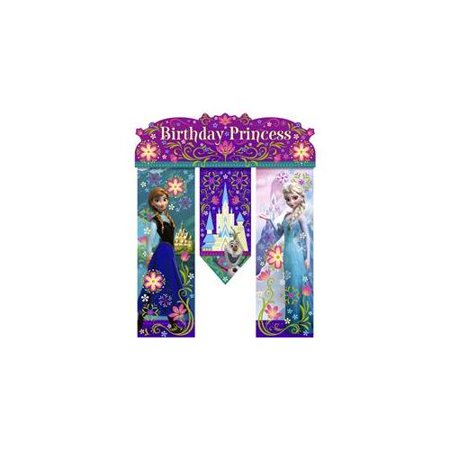 Disney's Frozen Birthday Banner (Each) - Party Supplies
