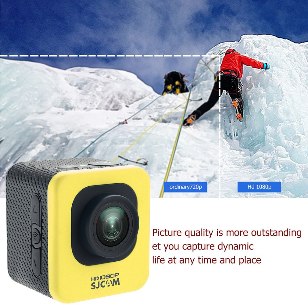 SJCAM M10 WIFI 12MP 1080P Mini Sports Action Camera 30M Waterproof Diving
