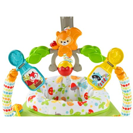 Fisher Price Woodland Friends Baby Jumperoo Infant Play Bouncer | CBV62 - image 8 of 11