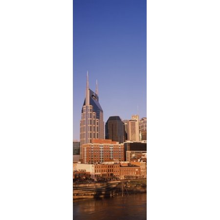 Buildings in a city BellSouth Building Nashville Tennessee USA Canvas Art - Panoramic Images (18 x 6) (Party City In Nashville Tennessee)