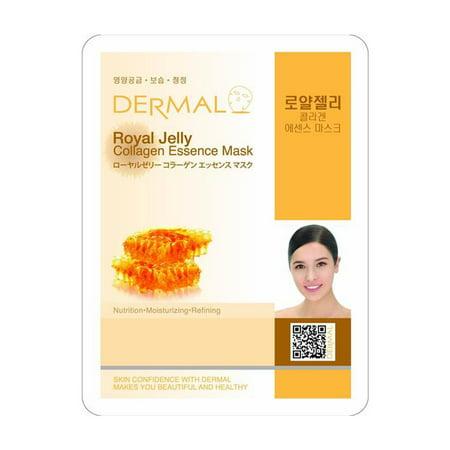 Dermal Royal Jelly Collagen Essence Face Mask 23g , 1 count