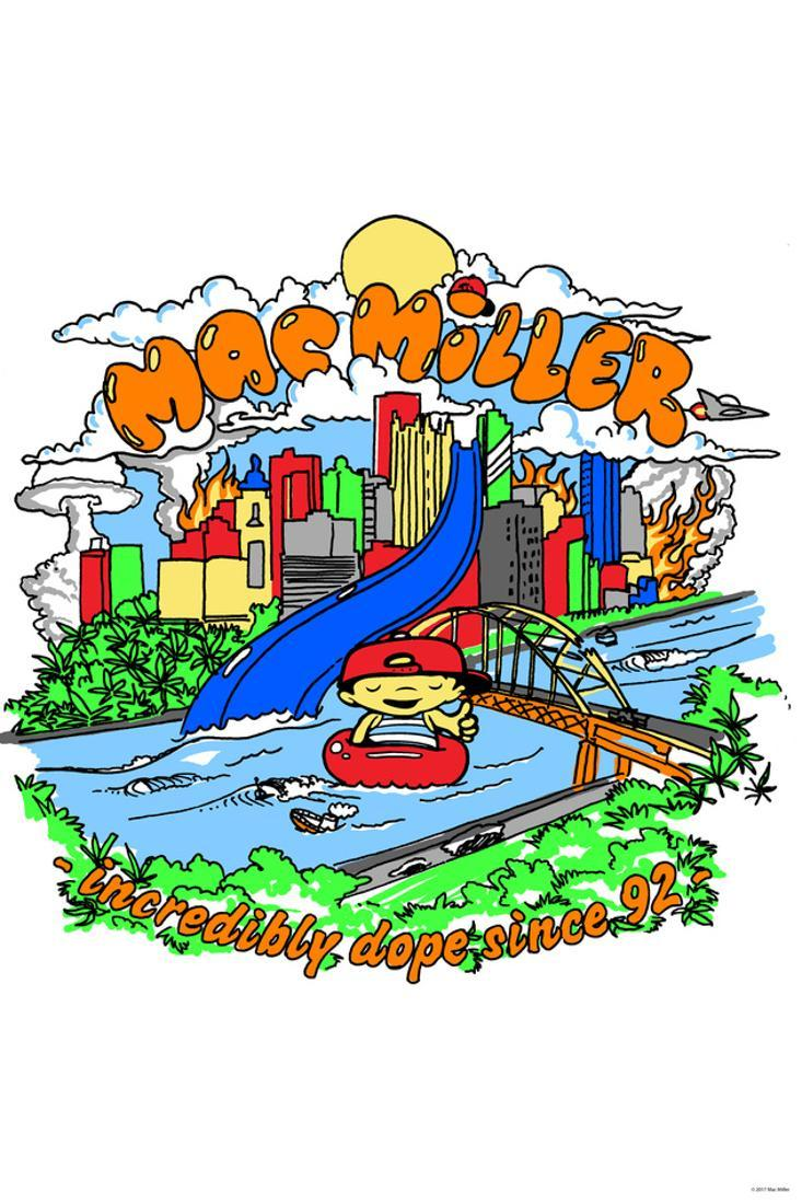 "MAC MILLER Poster Wall Print 24/"" x 36/"" 7 inch"