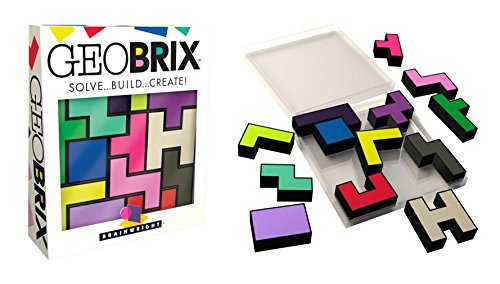 Brainwright Geobrix, Solve Build Create Puzzle