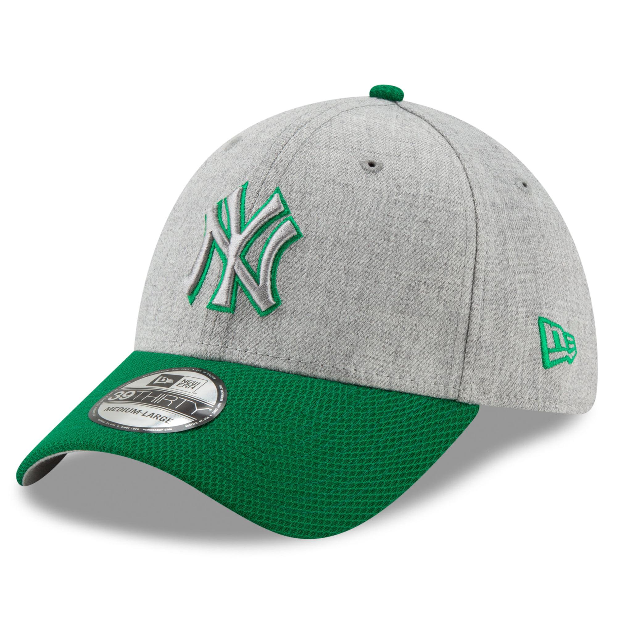 New York Yankees New Era St. Patrick's Day Change Up Redux 39THIRTY Flex Hat - Gray/Green