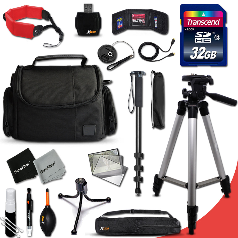 Ideal Complete ACCESSORIES KIT for Nikon Coolpix L840, L8...