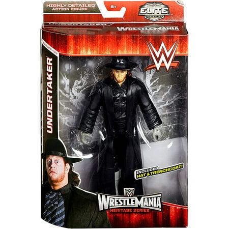 Undertaker Suit (Undertaker Action Figure Hat & Trenchcoat WWE)