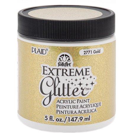 Plaid folk art extreme glitter paint for Craft smart acrylic paint walmart