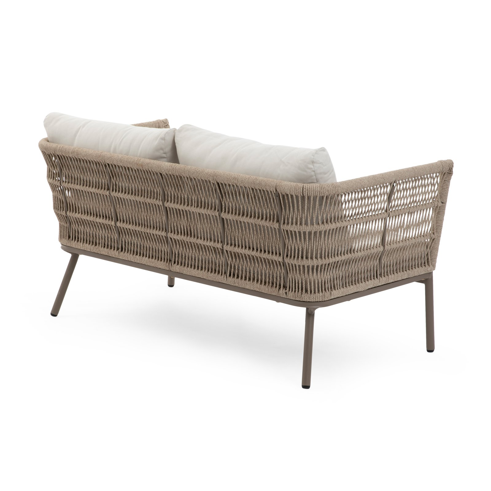 Wondrous Belham Living Wicklow Rope Weave Outdoor Sectional Sofa Set Bralicious Painted Fabric Chair Ideas Braliciousco