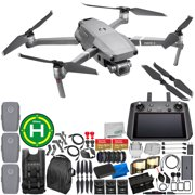 """DJI Mavic 2 Pro Drone Quadcopter with Hasselblad Camera 1"""" CMOS Sensor with Smart Controller Everything-You-Need 3-Battery Bundle"""