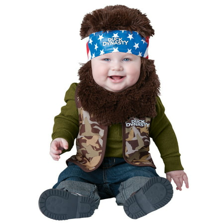 In Character Baby Willie Robertson Duck Dynasty Infant Halloween Costume