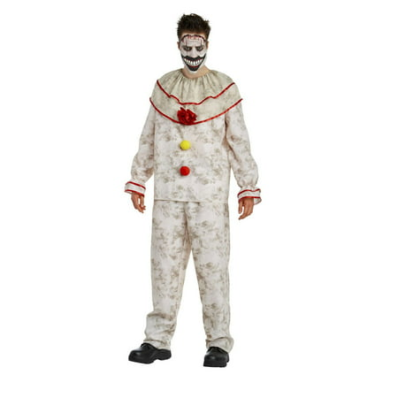 American Horror Story - Twisty The Clown Adult Halloween Costume - Clown Costume Accessories Adults