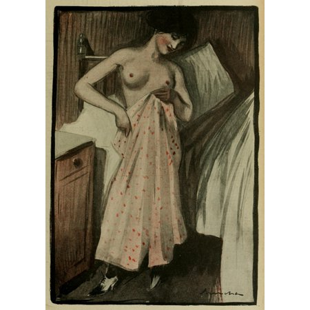 En Rose - Sancha La Vie en Rose 1903 Perplexite Canvas Art -  (18 x 24)