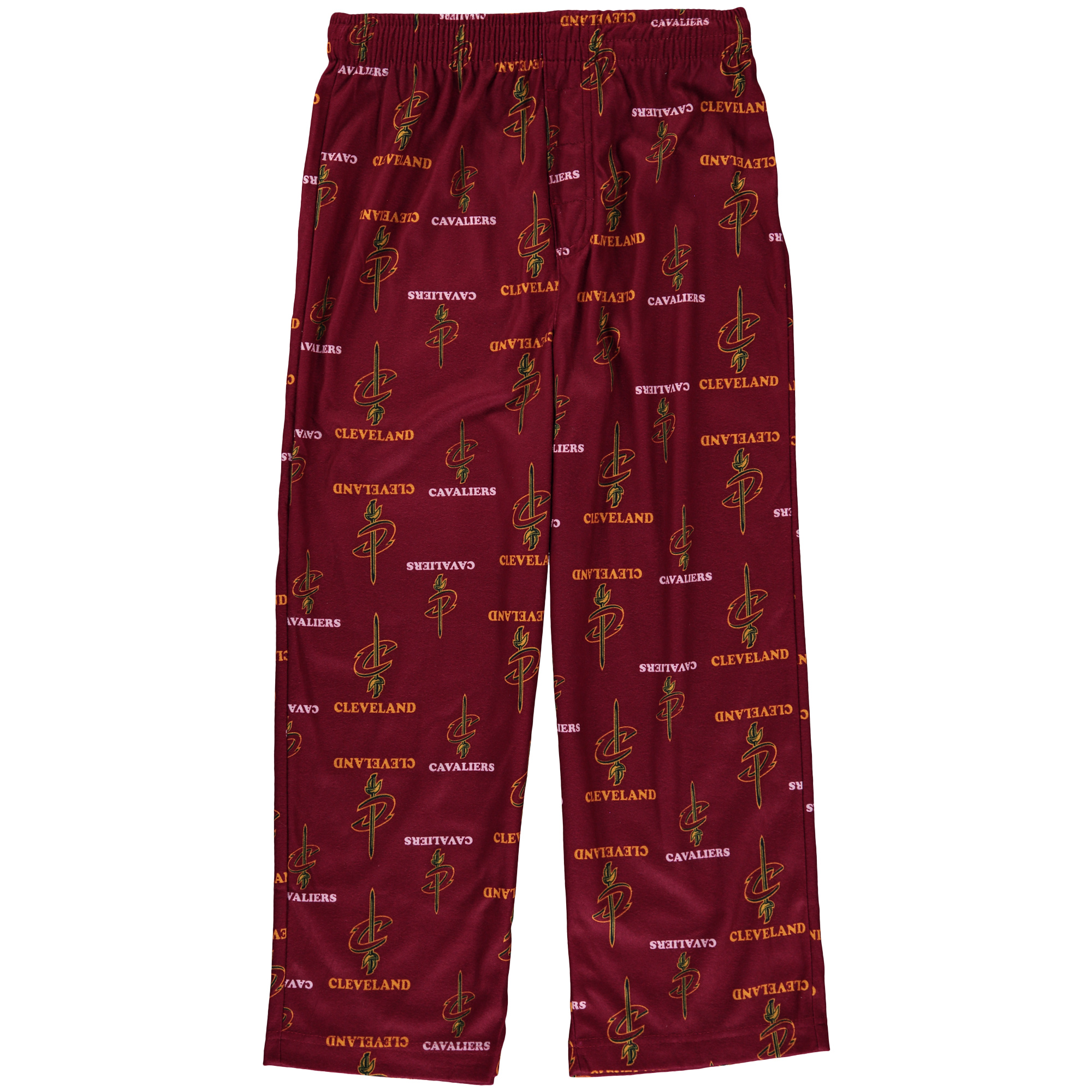 Cleveland Cavaliers Nike Youth Team Color Printed Pants - Wine